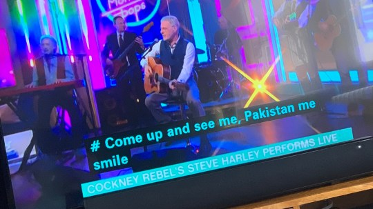 This Morning's dodgy subtitles