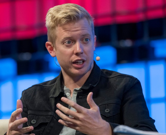 """LISBON, PORTUGAL - NOVEMBER 08: Steve Huffman CEO, Reddit, delivers remarks on """"Redesigning Reddit"""" during the third day of Web Summit in Altice Arena on November 08, 2017 in Lisbon, Portugal. Web Summit (originally Dublin Web Summit) is a technology conference held annually since 2009. The company was founded by Paddy Cosgrave, David Kelly and Daire Hickey. The topic of the conference is centered on internet technology and attendees range from Fortune 500 companies to smaller tech companies. This contains a mix of CEOs and founders of tech start ups together with a range of people from across the global technology industry, as well as related industries. This year's edition, starting on November 06, is the second to be held in Lisbon and will congregate almost 60,000 participants. (Photo by Horacio Villalobos - Corbis/Getty Images)"""