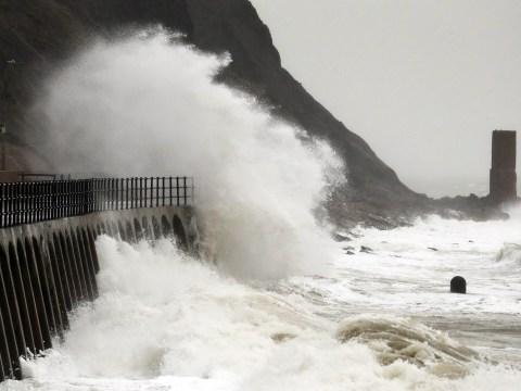 What UK flood warnings are currently in place for Storm Jorge?
