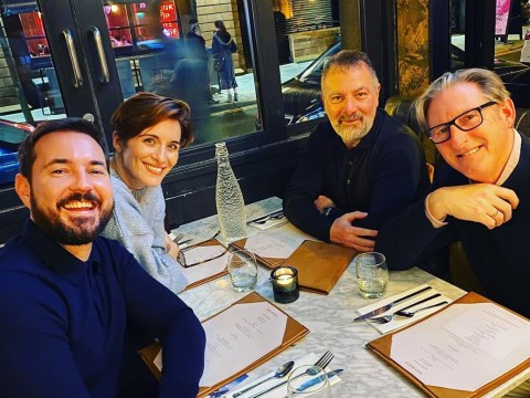 Line of Duty stars join creator Jed Mercurio for bite to eat as they take break from season 6 shoot