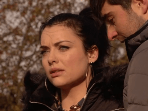 When is Leo found in EastEnders and what does he do to Whitney?