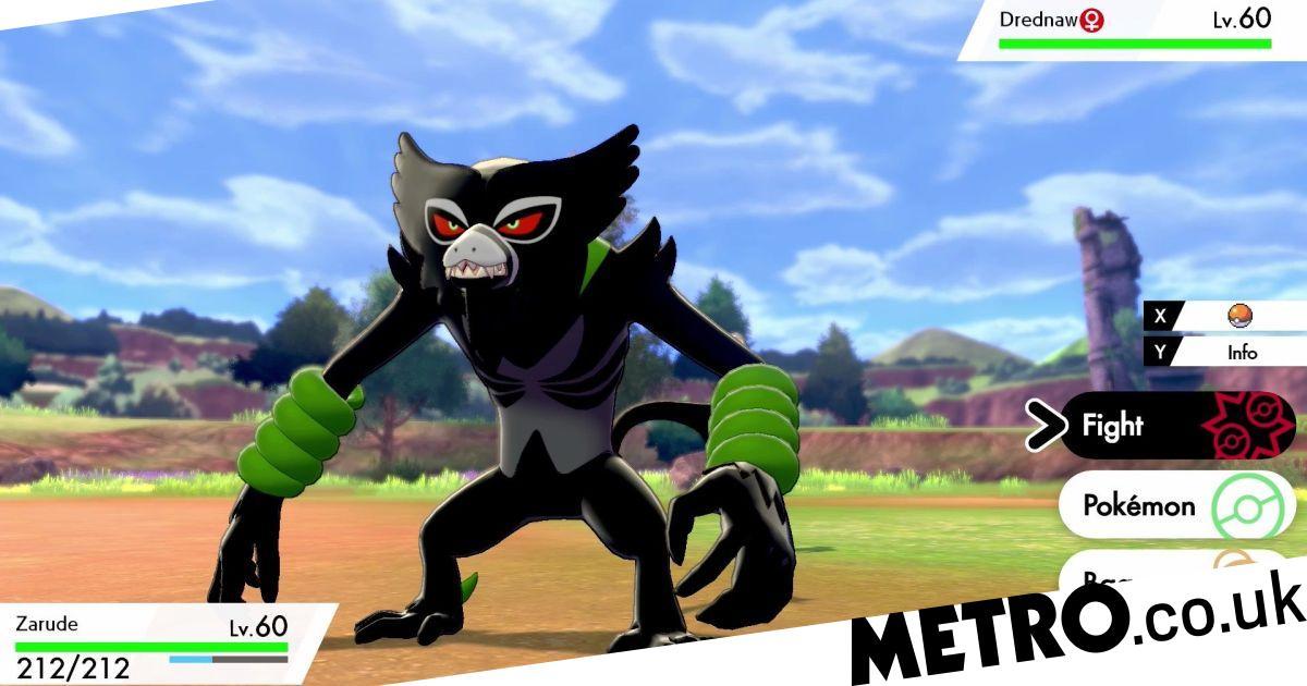 New Pokémon Sword and Shield mythical pokémon Zarude looks like a gremlin