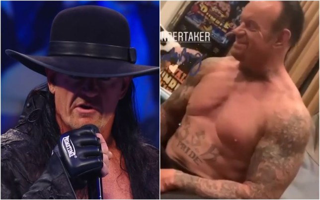 The Undertaker is looking ripped ahead of his WWE return at WrestleMania 36