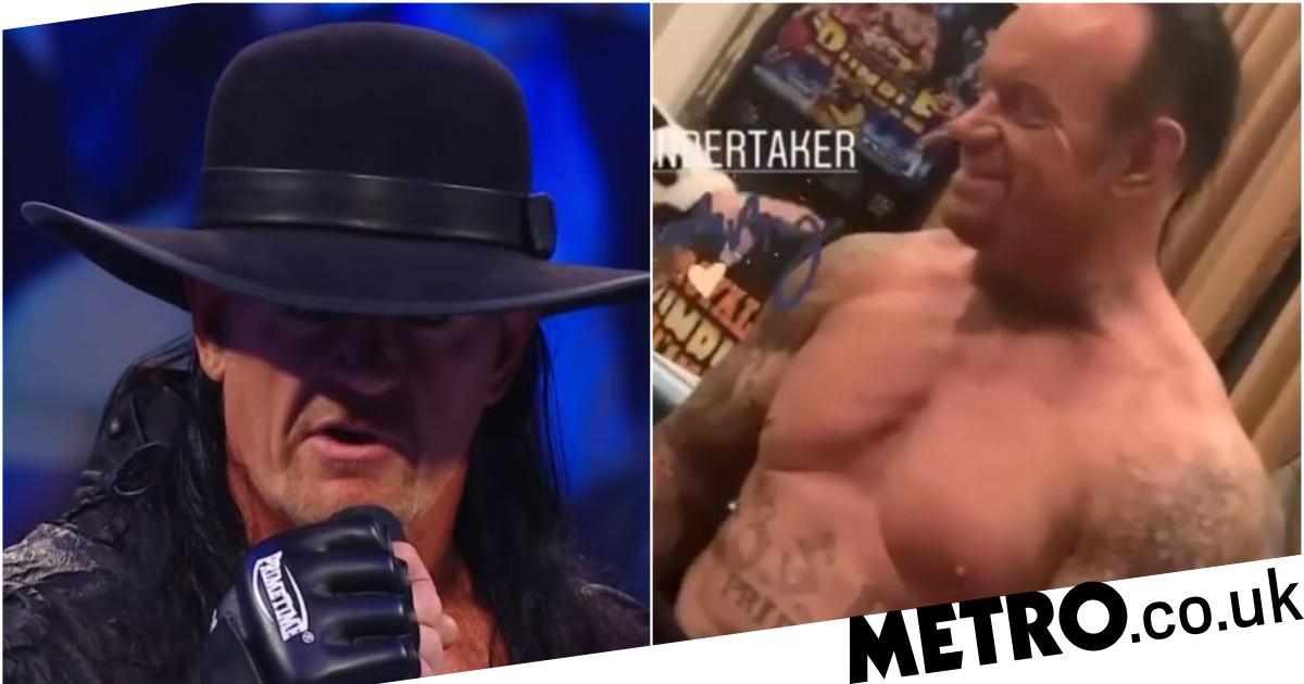 The Undertaker looks in superb shape ahead of WWE return at WrestleMania 36 - metro