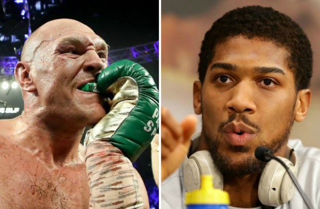 Tyson Fury mocks Anthony Joshua with 'Nigeria' gumshield