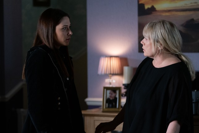 Dotty and Sharon in EastEnders