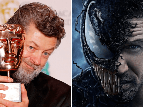 Andy Serkis on 'thrilling' Venom 2 and Tom Hardy as he takes helm as director for sequel