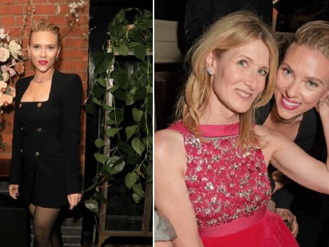 Scarlett Johansson parties night away after Baftas as Black Widow trailer premieres during Super Bowl