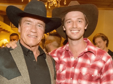 Patrick Schwarzenegger rejected roles in Arnold's films as he reveals 'old school' workouts and advice from action hero