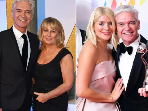 Holly Willoughby supported Phillip Schofield's wife before he came out as gay