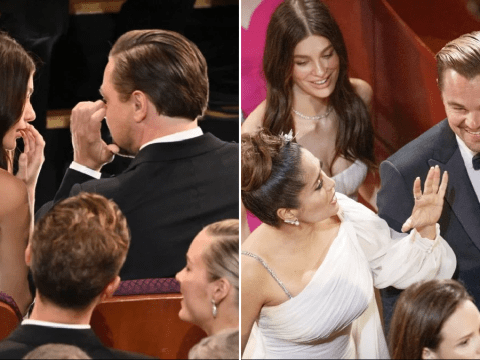 Leonardo DiCaprio and Camila Morrone take relationship public at Oscars after two years of dating