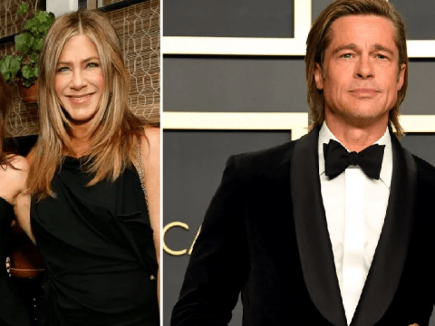 Jennifer Aniston and Courteney Cox hit up Netflix after-party as Brad Pitt scoops Oscar