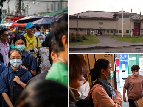 British prisoner with suspected coronavirus was 'transferred from Thai jail'