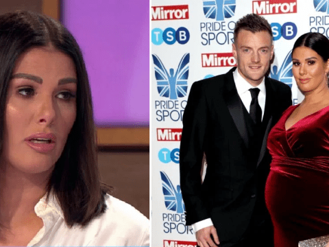 Rebekah Vardy reveals husband Jamie 'really struggled' over Coleen Rooney feud