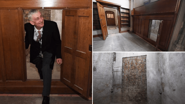 Secret doorway used by Charles II 350 years ago found in House of Commons