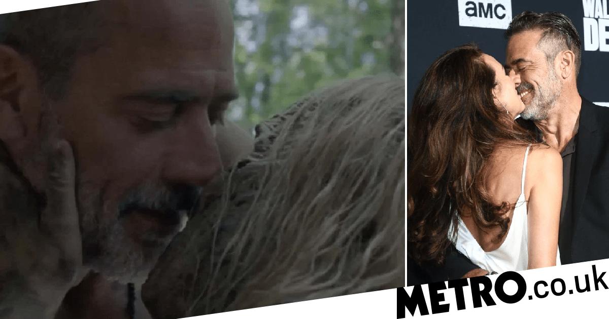 The Walking Dead: Jeffrey Dean Morgan's wife finds Alpha and Negan sex scene hot