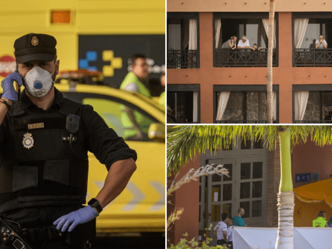 Britons among 130 guests cleared to leave coronavirus-hit Tenerife hotel