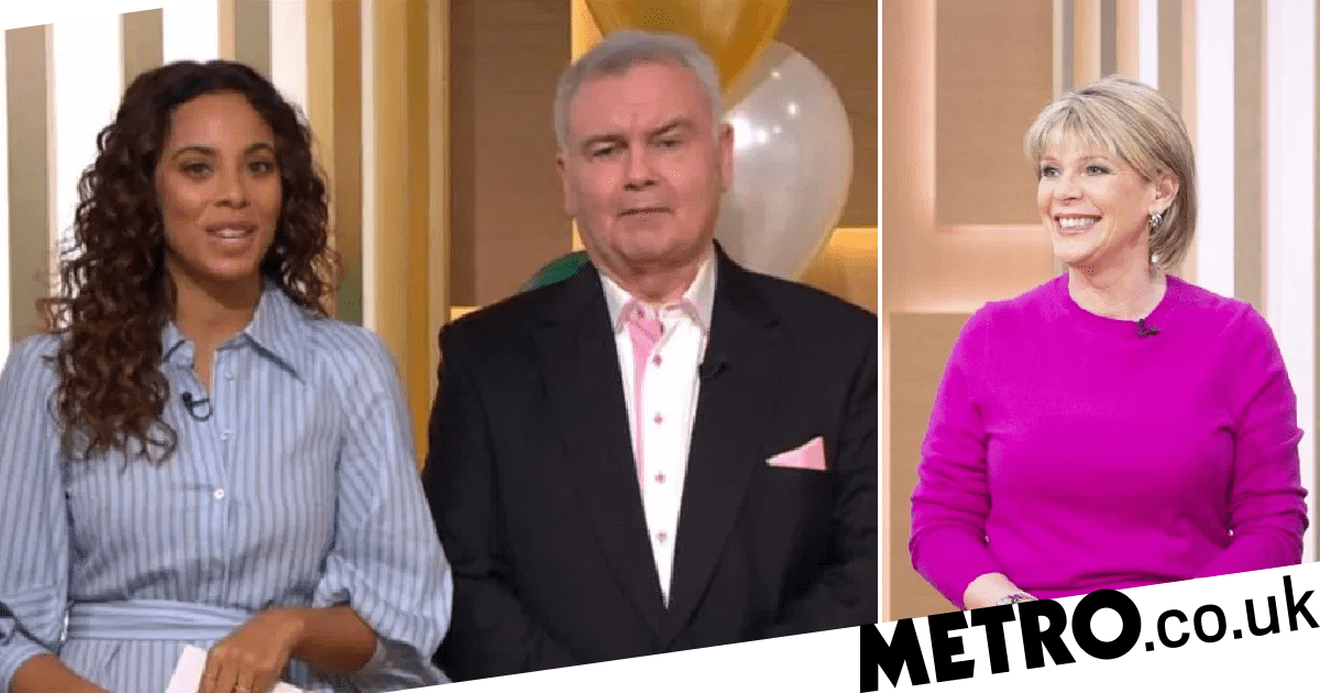 Rochelle Humes forced to step in on This Morning last minute for Ruth Langsford