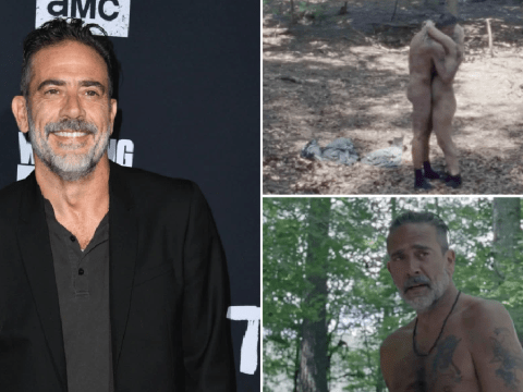 The Walking Dead's Jeffrey Dean Morgan wore 'beige diaper' in Negan and Alpha sex scene
