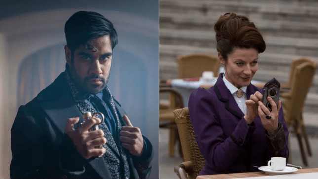 Doctor Who The Master Sacha Dhawan and the Master Michelle Gomez as Missy