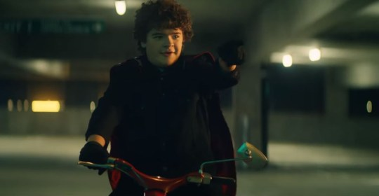 Gaten Matarazzo Stranger Things Green Day Music Video