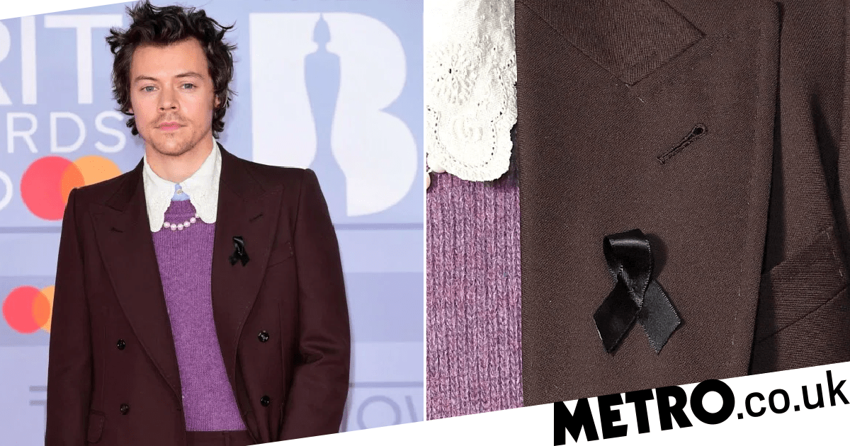 Fans think Harry Styles paid tribute to Caroline Flack on Brit Awards red carpet