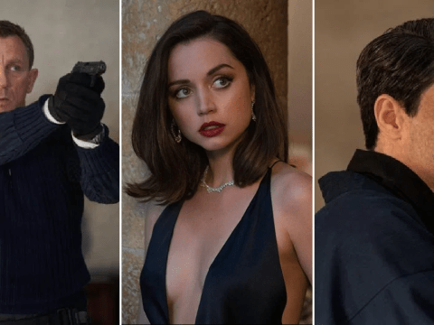New trailer for next James Bond No Time To Die sees Daniel Craig reunite with Knives Out's Ana de Armas for final outing