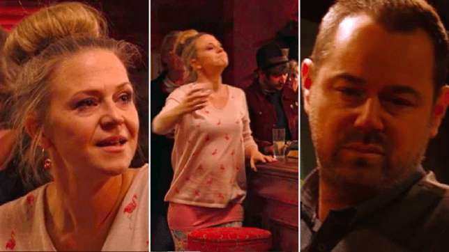 Linda and Mick Carter in EastEnders