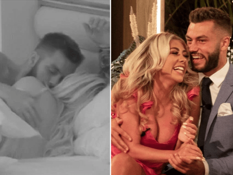 Love Island winners Paige Turley and Finley Tapp admit they did have sex in the villa: 'It's hard to fight'
