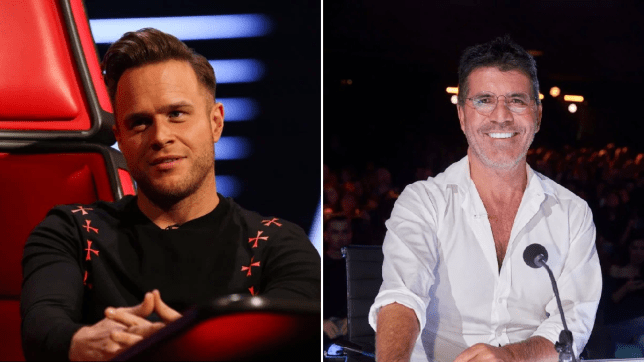 Olly Murs Simon Cowell The X Factor