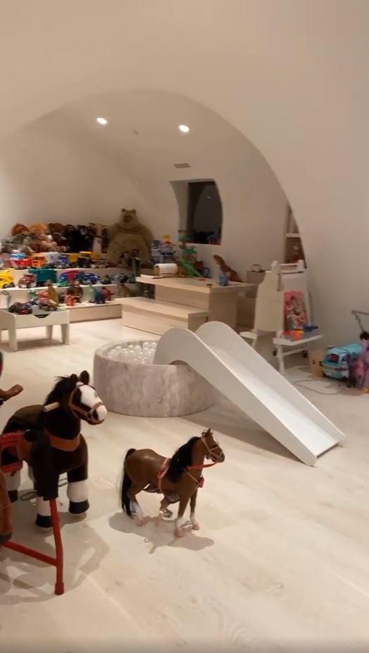 Kim Kardashian playroom