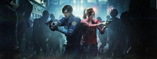 Resident Evil 2 Leon Claire
