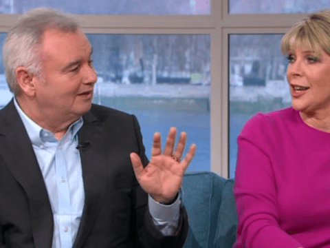 Eamonn Holmes compares Ruth Langsford's feet to a goat in bizarre toe-sucking segment