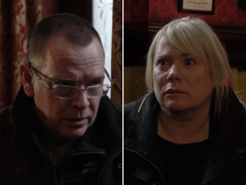 EastEnders spoilers: Ian Beale tells Sharon Mitchell a shocking lie about Dennis Rickman's death