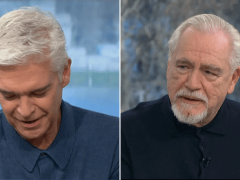 Phillip Schofield confesses 'you'll make me cry' as Brian Cox praises him for coming out on This Morning