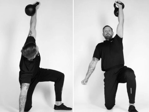 Why the Turkish get-up could be the perfect full-body move
