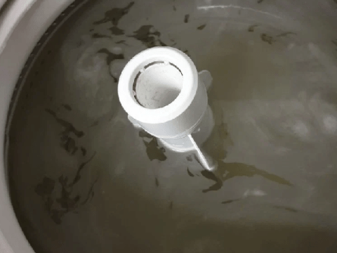 Mums put dishwasher tablets in their washing machines to clean them – with amazing results