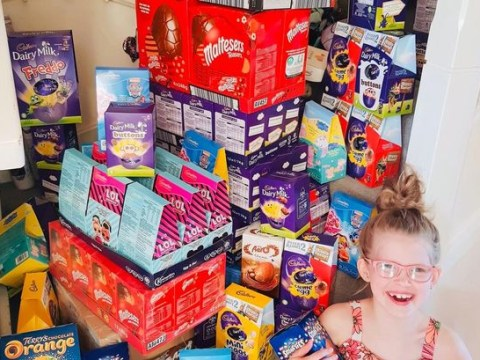 Six-year-old collects 150 Easter eggs for NHS staff and frontline coronavirus workers