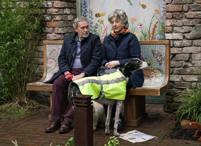 Evelyn and Arthur in Coronation Street