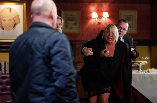 EastEnders Sharon and Phil
