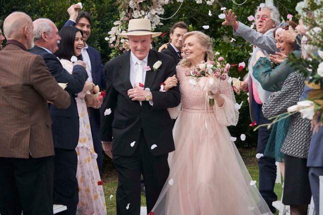 Alf and Martha wedding