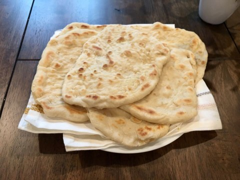 If you can't find bread in local stores, this cheap flatbread recipe only needs three basic ingredients