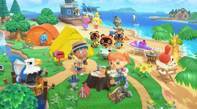 Animal Crossing: New Horizons key art