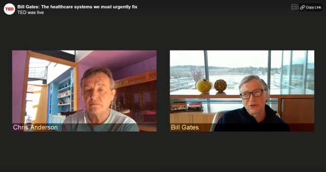 Bill Gates spoke to TED founder Chris Anderson for an hour this week (TED)
