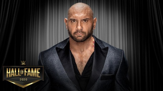 Hollywood and WWE Dave Bautista - Batista - getting inducted into Hall of Fame 2020