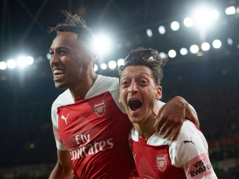 Mesut Ozil a 'huge problem' in Arsenal's contract renewal talks with Pierre-Emerick Aubameyang