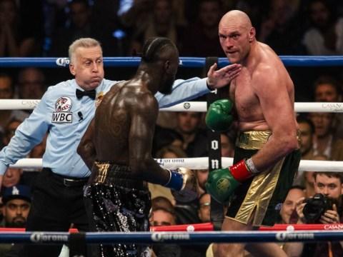 Tyson Fury vs Deontay Wilder glove conspiracy theory slammed by referee Jack Reese
