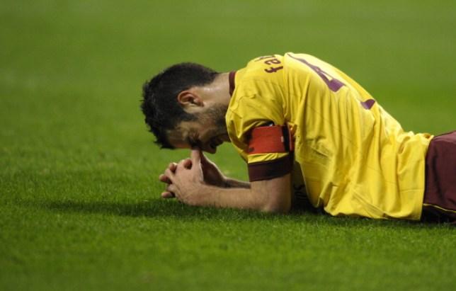 Cesc Fabregas left Arsenal to rejoin Barcelona in the summer of 2011