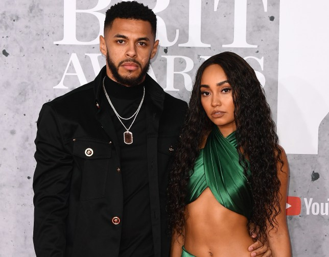 Leigh-Anne Pinnock and Andre Grey