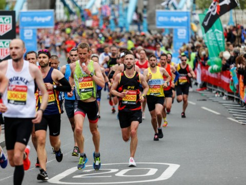 Has the London Marathon ever been cancelled before?